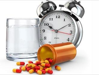 Соблюдайте правильные интервалы между приемом лекарственных препаратов