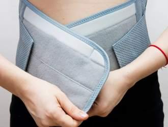 Послеоперационный период может вполне потребовать временное ношение бандажа